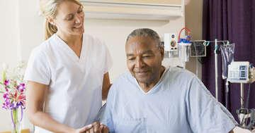 腹部手術の前に呼吸訓練の指導30分で術後の合併症を予防の写真