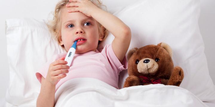 インフルエンザが重症化しやすい子どもの6つの特徴の写真