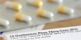 インフルエンザ治療でオセルタミビル(タミフル®)の効果を確認の写真