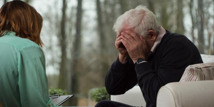 痛みの管理によって認知症患者の行動障害が減らせる?の写真