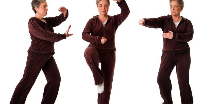 パーキンソン病患者のバランストレーニングに太極拳が有効の写真