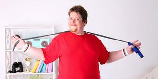肥満の人が減量したら、乾癬の症状が軽くなったの写真