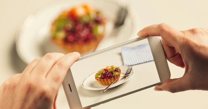 携帯で食事の写真を撮ってカロリー管理、その精度は?の写真