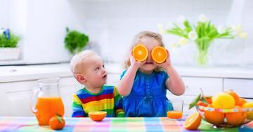オレンジジュースと生のオレンジ、ビタミンAを摂るにはどっち?βクリプトキサンチンの生物学的利用能の写真