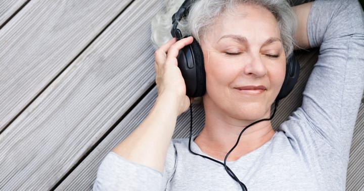 更年期障害の顔のほてりが呼吸法で改善、しかし音楽を聞くともっと改善の写真