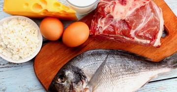痛風は肉・魚をよく食べる人で多く、牛乳をよく飲む人で少ないの写真