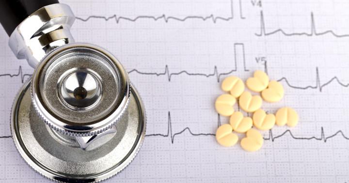 β遮断薬は心筋梗塞後の死亡リスクを減少させる の写真