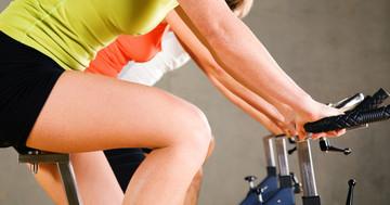 体重が減らなくても脂肪肝は改善する、4週間の自転車こぎ の写真