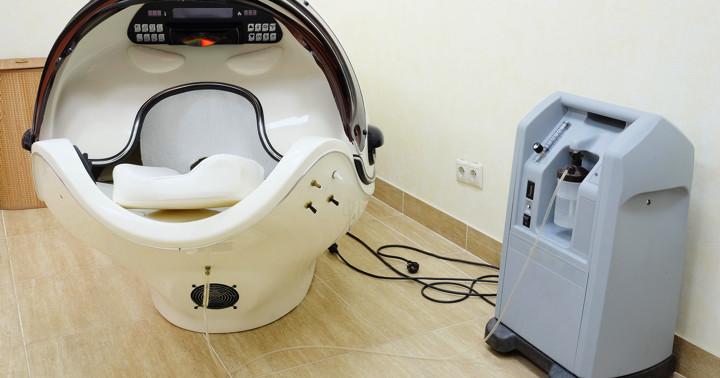 線維筋痛症の症状を改善、高気圧酸素治療の効果の写真
