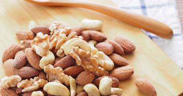 ナッツを月1回でも食べる人は死亡率が低かった の写真
