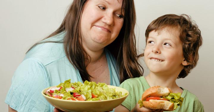 親の健康と子供の健康は関連している!? の写真