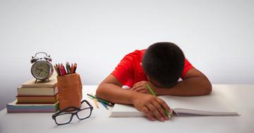 睡眠呼吸障害の子どもには苦手な科目があったの写真