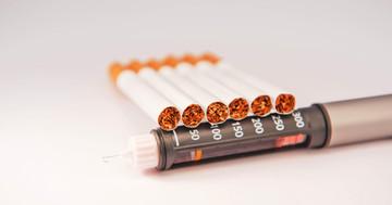 糖尿病患者の喫煙は死亡率を1.55倍に、禁煙すると下がる の写真