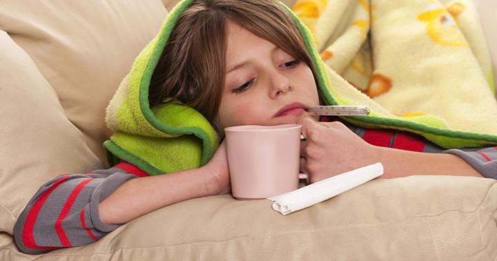 子どものインフルエンザはどのような症状が見られるか? の写真