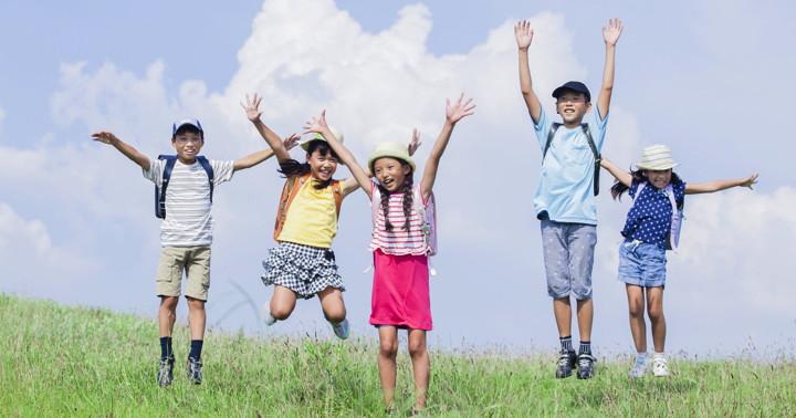 子どもが毎日40分、屋外で活動すると近視が少なくなったの写真