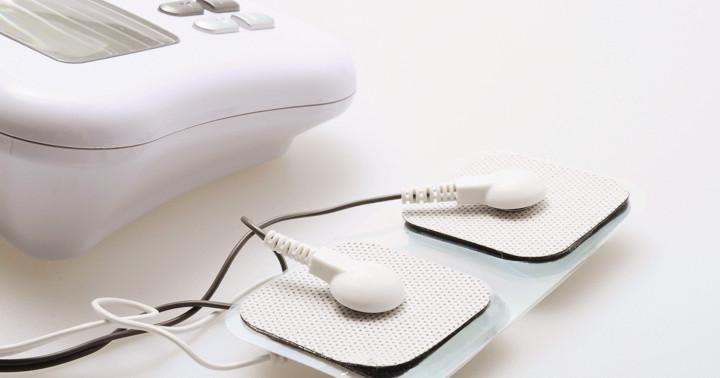 脳卒中患者の手足の固さは電気刺激で良くなる?の写真