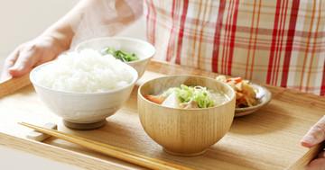朝ごはんを多め、夕ご飯を軽めに食べると何に良いか?の写真