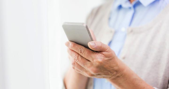 心筋梗塞患者の生活習慣改善を携帯電話のメッセージで支援の写真
