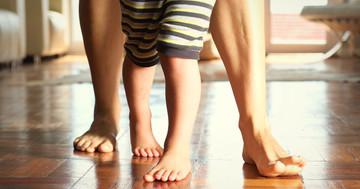 ダウン症候群のバランス能力改善に、全身振動トレーニング の写真