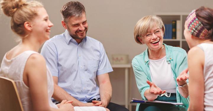 統合失調症にユーモアトレーニングが有効か? の写真