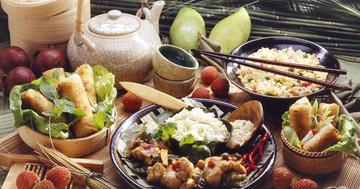 中国の伝統的な食事をとる人はやせている!?の写真
