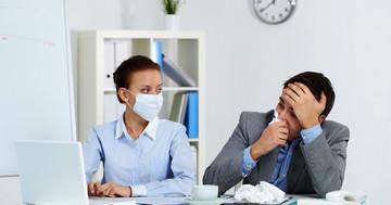 インフルエンザは症状が出ていない人からも感染するのか?の写真