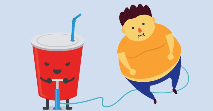甘い飲み物をどのくらい飲むと体重は増えるのか? の写真