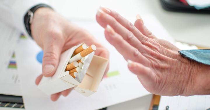 脳卒中である部位にダメージを受けると、タバコをやめやすくなる? の写真