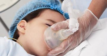 乳児の細気管支炎にヘリウムと酸素の混合ガス吸入が有効?の写真