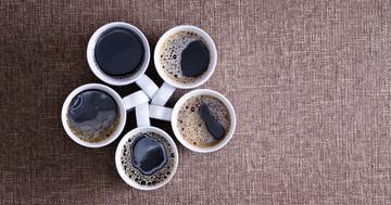 1日1-5杯のコーヒーで死亡率が下がるの写真