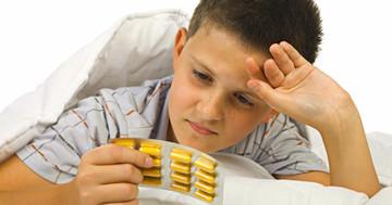 ADHD治療薬の副作用で睡眠時間が短くなる の写真
