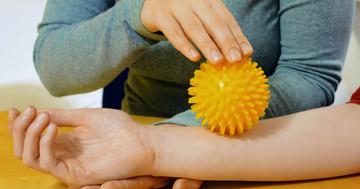 やけどした皮膚の感覚はリハビリで治るか の写真