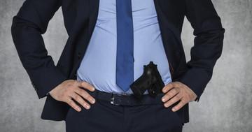 警察官のストレスとメタボの関係の写真