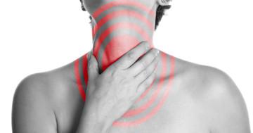 喉に電気で刺激をすると脳梗塞後の飲み込みが改善 の写真