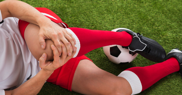 前十字靭帯損傷をした選手はどこが弱かったか? の写真