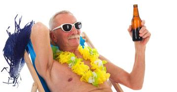 アルツハイマー病患者では、ビール2本飲んでいる人の死亡率が低い? の写真