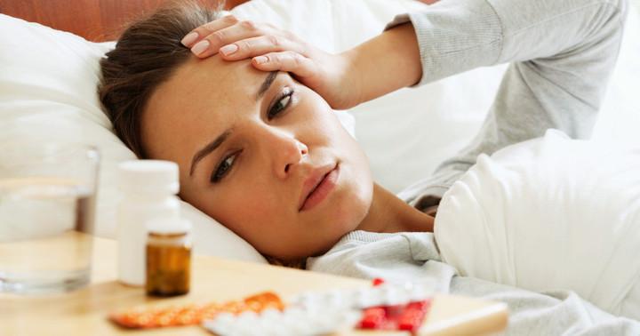 インフルエンザにアセトアミノフェンでは熱も下がらない の写真