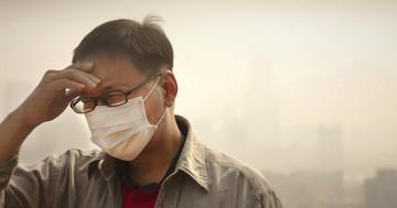大気汚染により脳卒中の死亡率が上がりやすい の写真