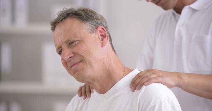 脳卒中後の肩の痛みにテーピングが有効 の写真