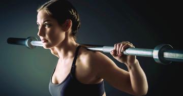 運動直前にリンゴ酸シトルリンを補給した女性は、腕と脚のウエイトリフティングが楽になるの写真