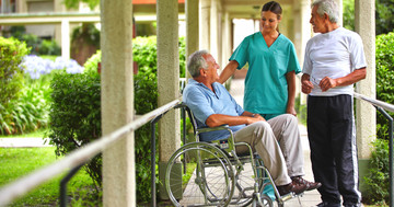 股関節骨折後の集学的リハビリでうつ症状減少 の写真