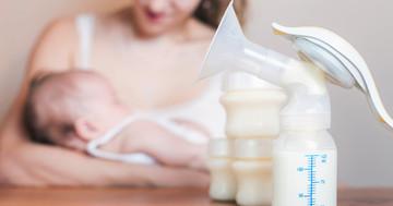 母乳と粉ミルクでは、乳児の腸内フローラが変わるの写真