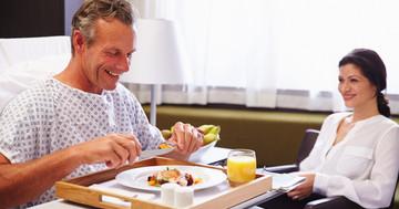 食事の見た目で再入院が減少の写真