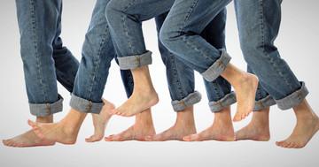 リズム音を使った歩行訓練が体の片側が麻痺してうまく歩けない人に効果