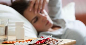 インフルエンザに伴う発熱に使う解熱剤(アセトアミノフェン など)に関しての写真
