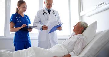 脳梗塞での回復期リハビリテーション病棟の役割と診療報酬上の条件の写真