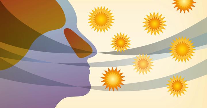 花粉症の原因を治療、免疫療法を飲み薬での写真