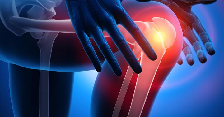 変形性膝関節症の痛みに、ゆっくり効く注射1回で12週間の写真