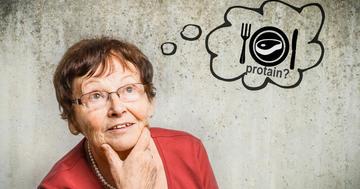 高齢女性はたんぱく質を摂ると健康でいられる?の写真