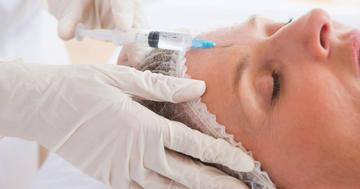 シワ取りのためのボツリヌス注射、本当に細い針の方が痛くない?の写真